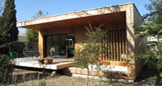 maison bois avignon